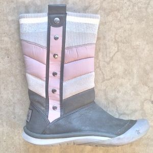 Cushe De Luxe Mindy Quilted Leather Puffy  Boots